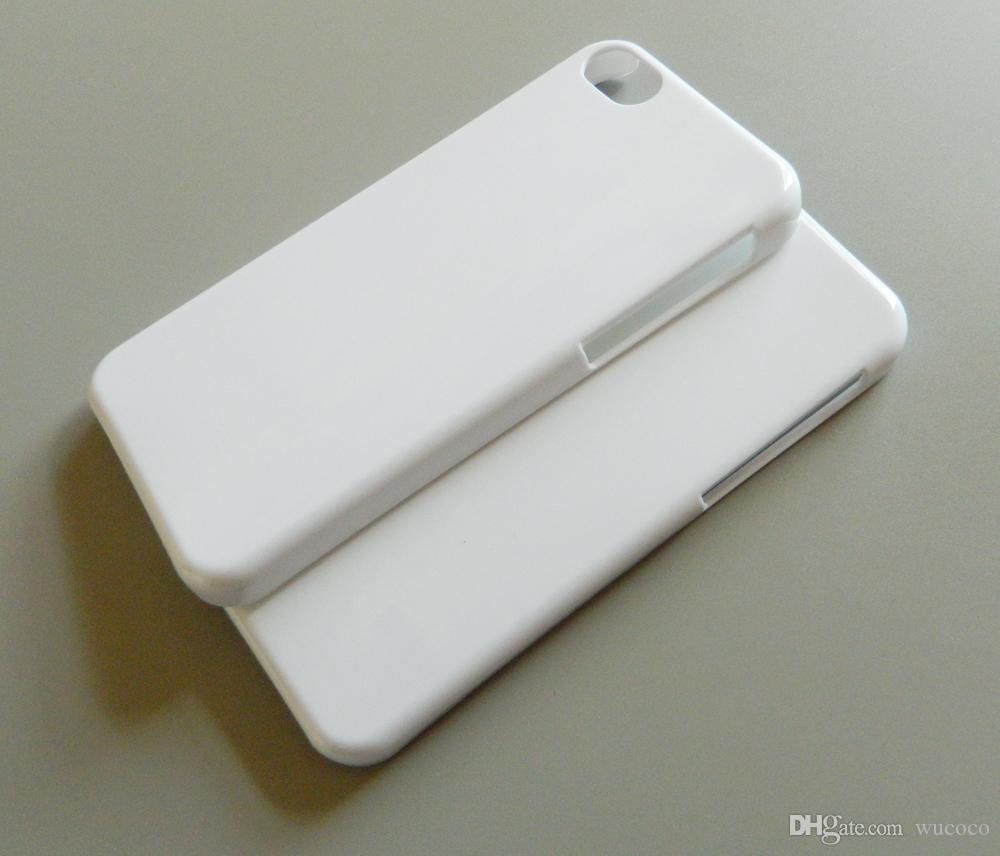 glänzend / matt leerer hülle für iphone 5c sublimation drucken telefon case volles raum druckbare kostenloser versand fedex dhl großhandel