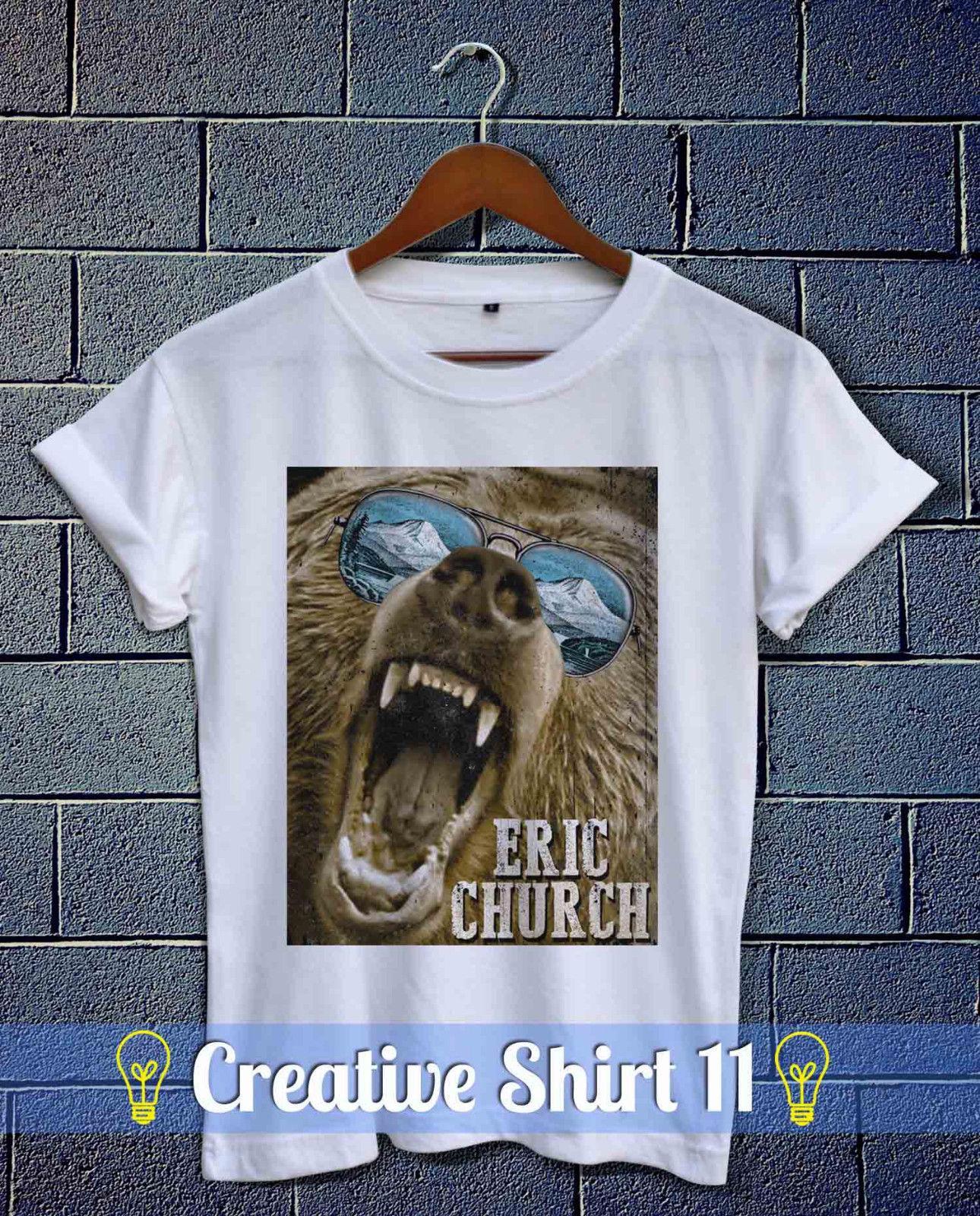 Eric Church aguantando mi propia mercancía tour Camisa unisex Poco a beber un poco