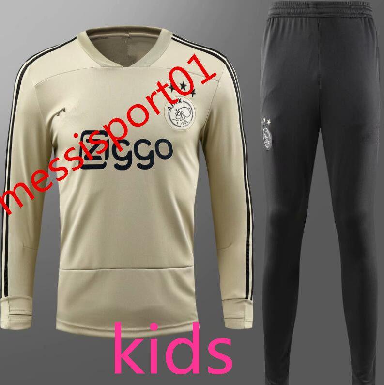 Acquista Nuova Ajax 20192020 Tuta 20192020 Ajax BAMBINI Tuta VAN DE BEEK Dolberg Kluivert Calcio Uniforme Taglia XXS L A $30.46 Dal Messisport01 |