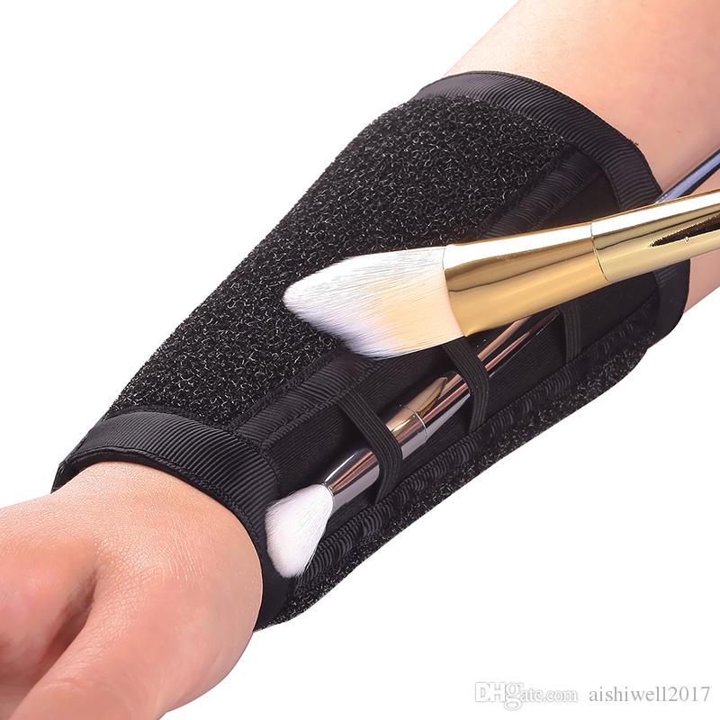 팔 메이크업 브러쉬 클리너 스폰지 리무버 컬러 스폰지 클리너 브러쉬 도구 아이섀도 파우더 클린 드라이 도구 사용