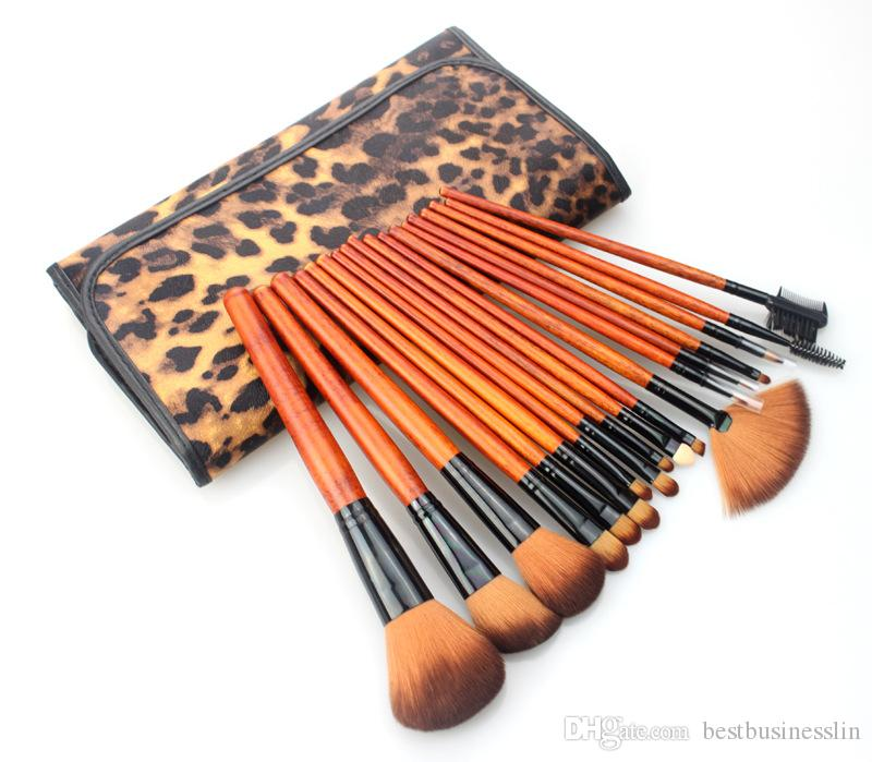 18 Pcs/Set New Arrival Cosmetics Brush Set Nake Eyeshadow Palettes Foudation Makeup Brushes High Tech Make Up Tools