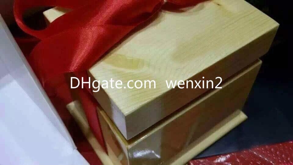 Роскошные коробки Высококачественные деревянные ящики, часы подарочные коробки. Упаковка наручных часов