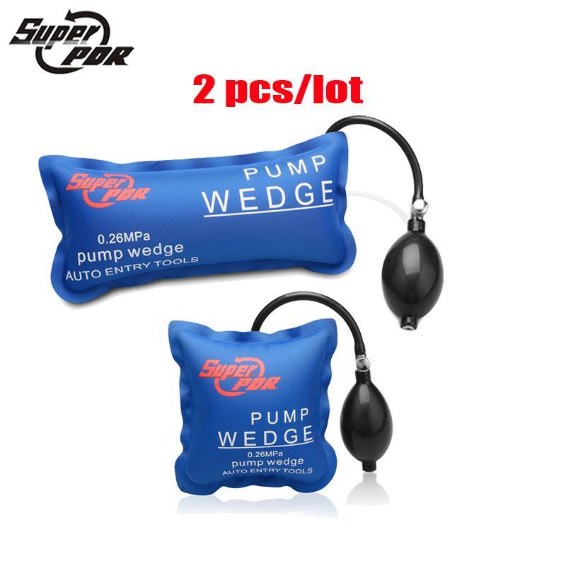 Auto Air Wedge Airbag PDR tools Lock Pick Set Pump Wedge Locksmith Tools Open Car Door Lock Tools M L 2 pcs/lot