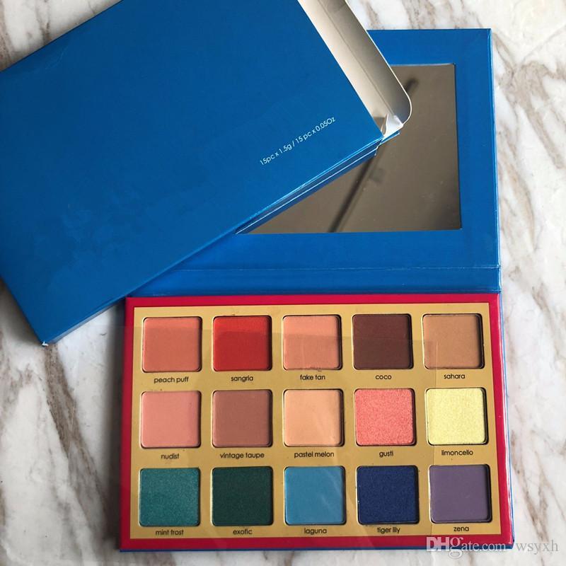 Nuevo Maquillaje Paleta de colores Paleta de cosméticos Cosmic Sombra de ojos Paleta de sombra de ojos de 15 colores Maquillaje En stock