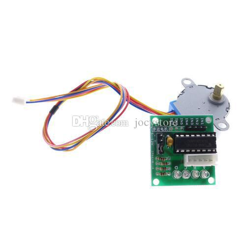 1LOT 5V 4 상 스테퍼 스텝 모터 + 드라이버 보드 ULN2003 드라이브 테스트 모듈 기계 보드 arduino Raspberry pi kit