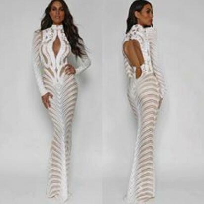Evening dress Long Dress High Collar Beaded White Sash Ruffle Satin One-Shoulder Purple Zipper Mermaid Zuhair murad Kim kardashian