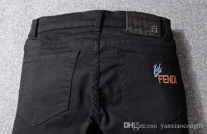 Großhandel Mode Herren Robin Rock Revival Jeans Street Style Junge Jeans Denim Hosen Designer Hose Herren Größe 28 40 New # 6002 Von Yanxiaocong01,
