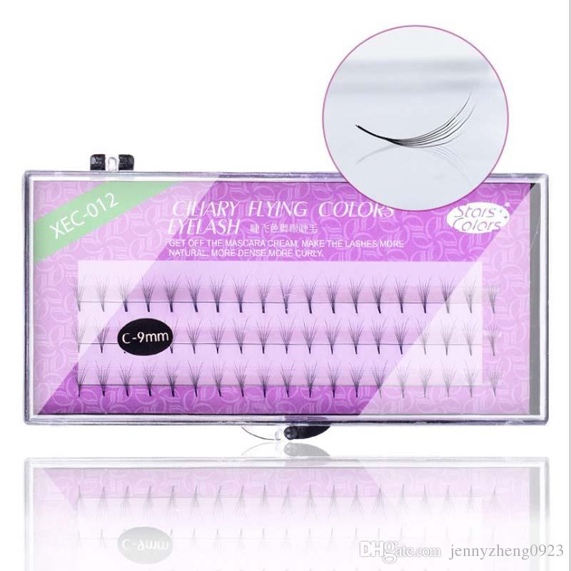 6D Thickness C Curl 60 Clusters False Eye Lashes 8/9/10/11/12mm Grafting Fake Extensions Tools