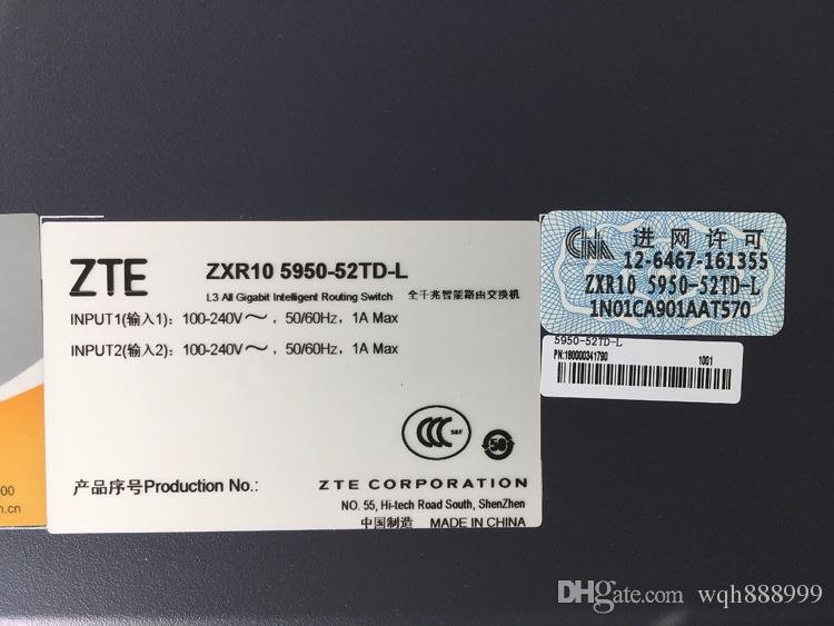 100% original Schalter für ZTE (ZXR10 5950-52TD-L) (ZTE ZXR10 1660-16TC)