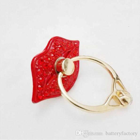 Suporte anel de telefone celular, SmartLegend rotação de 360 ° Punho Titular anel de metal Dedo com cristais Bling Universal Smartphone Kickstand
