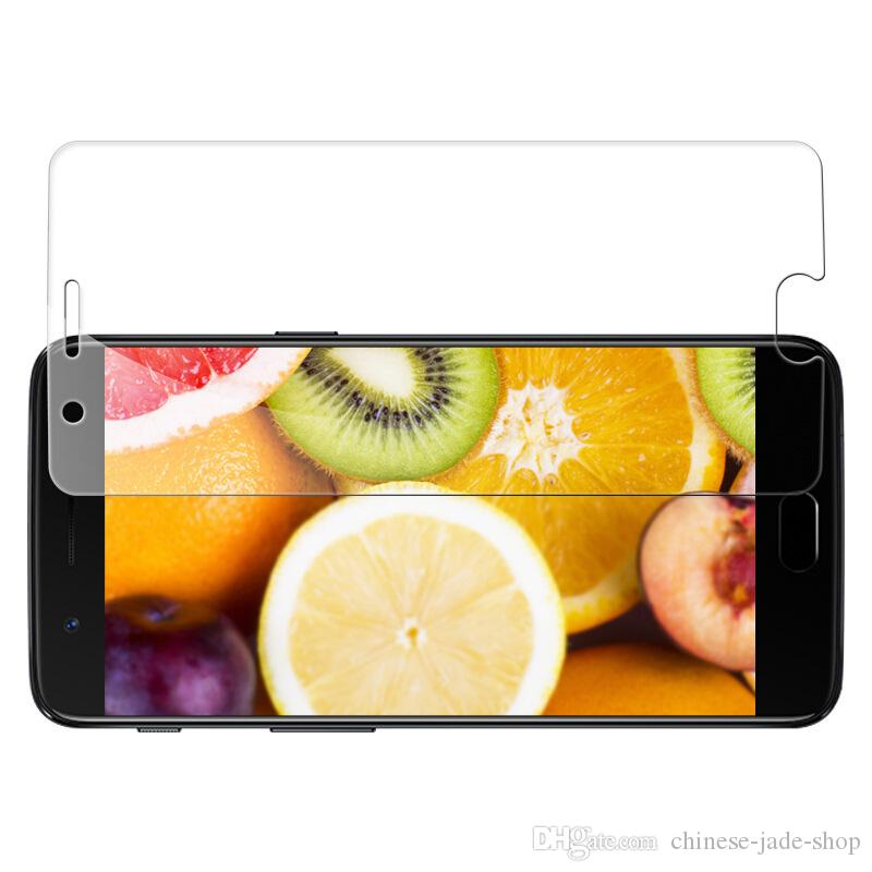 Protecteur d'écran de verre trempé 2.5D de 9h Premium 2.5D pour Motorola Moto G5S Plus Moto X4 Z2 Force E5 Plus E5 Play G6 Jouer à 200 pcs / Lot