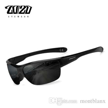 Diseño de la marca Classic Black Polarized Sunglasses Hombres Vintage Square Lens Gafas de sol Male Driving Eyewear Gafas PL289