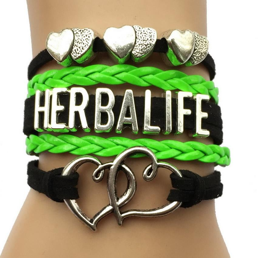 2019 Herbalife Bracelets Handmade Leather Wrap Promotion Gift Company Lover  From Sara001, &Price