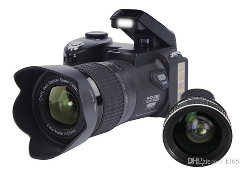 2017New PROTAX 폴로 D7100 디지털 카메라 33MP FULL HD1080P 24X 광학 줌 자동 초점 전문 캠코더