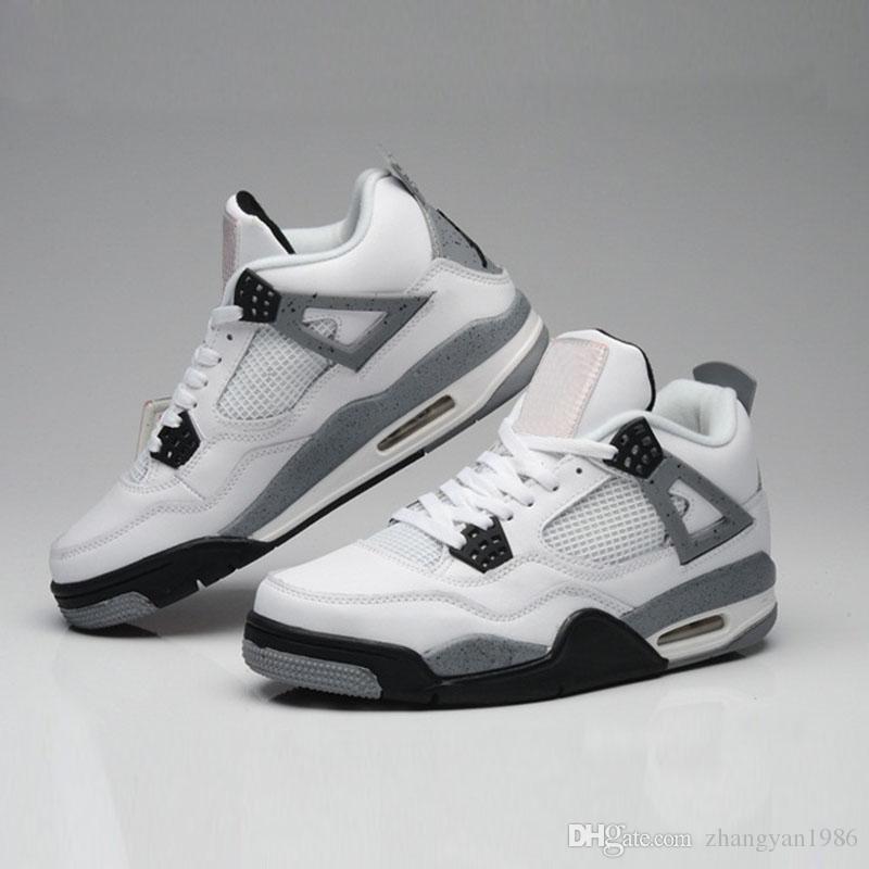Großhandel Nike Air Jordan 4 Aj4 Retro 4 Eminem Encore Pure Geld White Zement Royalty Gezüchtet Toro Bravo Donnergrün Glow Schuhe 4 S Mens Basketball