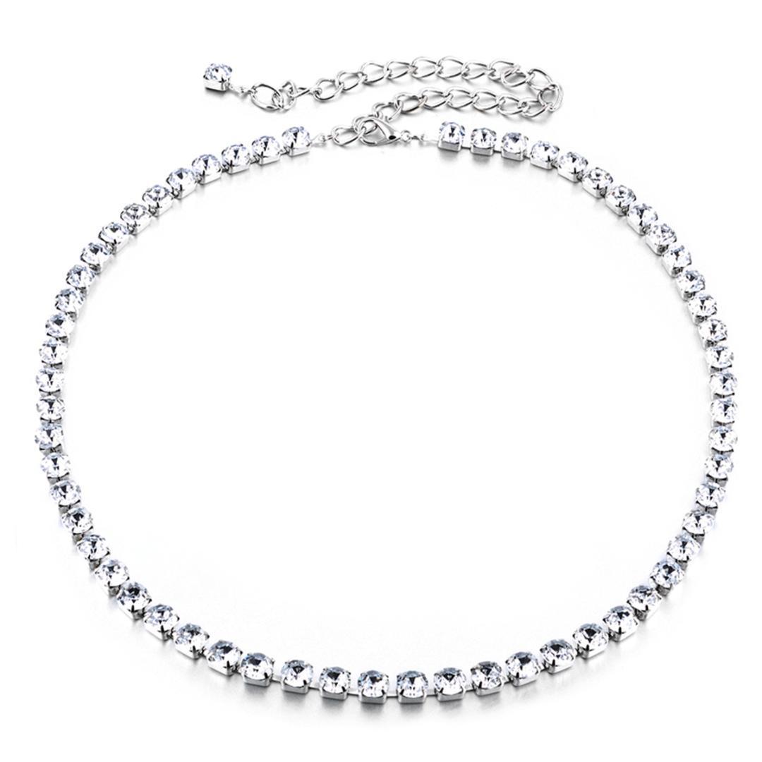 Women Ladies Adjustable Rhinestone Waistbelt,Waist Chain Décor Belt