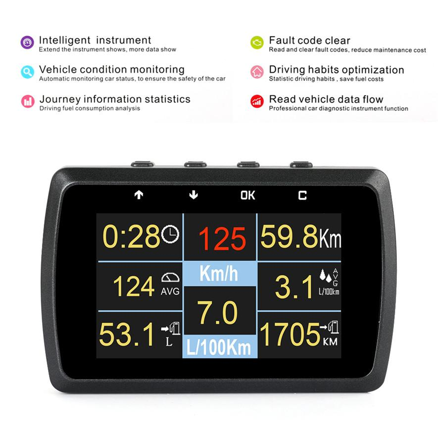 OBD2 Auto Scanner On-board Engine Water Temperature Display_05