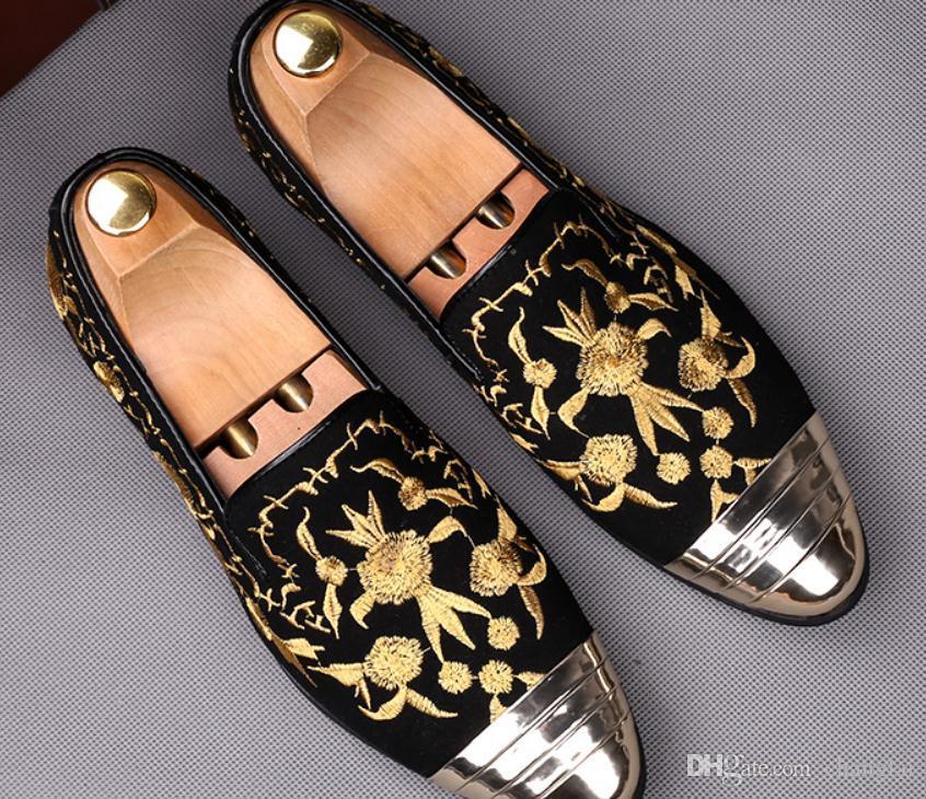Бесплатная отправка 2018 весной новый стиль острым концом моды на низком каблуке мужская кожаная обувь