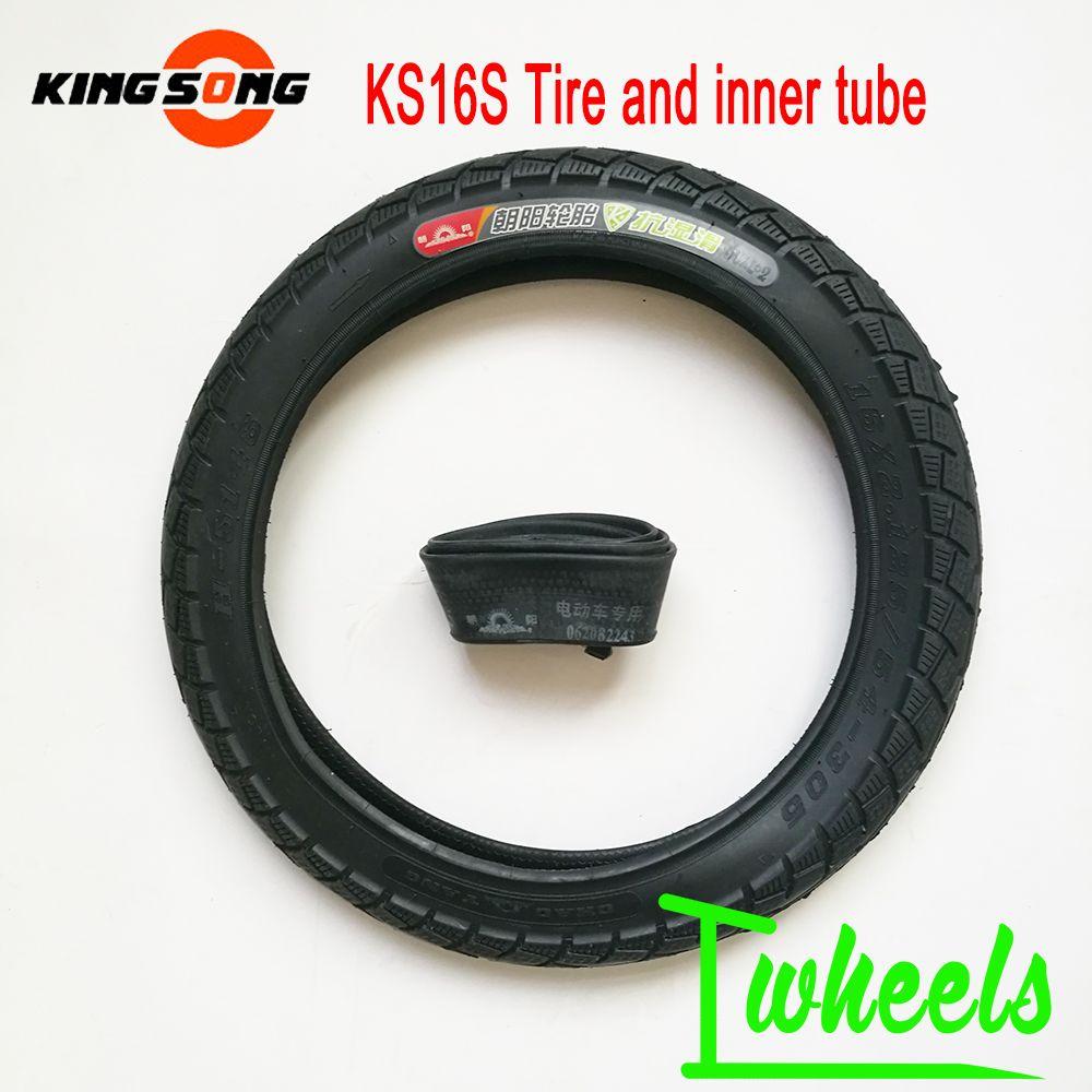 원래 임금 노래 KS16s 타이어 전기 외발 자전거 16 * 2.125 타이어 안 튜브 54-305 타이어 예비 품목