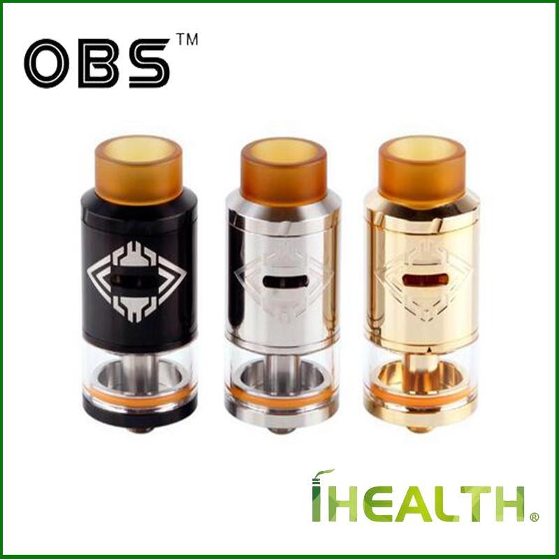 100% autentico OBS Crius RDTA 4ml Capacità Riutilizzabile Lato superiore riempimento VS serbatoio OBS V DHL spedizione gratuita