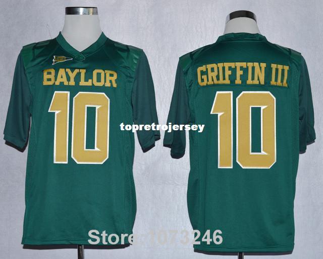 2021 Baylor 10 Robert Griffin III College Jerseys American ...
