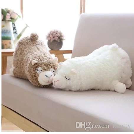 45 см японский Alpacasso плюшевые игрушки лежа альпака игрушки куклы мягкие игрушки животных для детей подарок Каваи милый подушка подарок игрушка