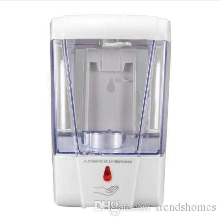 700 мл Автоматический датчик ванной жидкое мыло дозатор бесконтактный настенный кухня моющее средство ванна шампунь лосьон дозаторы