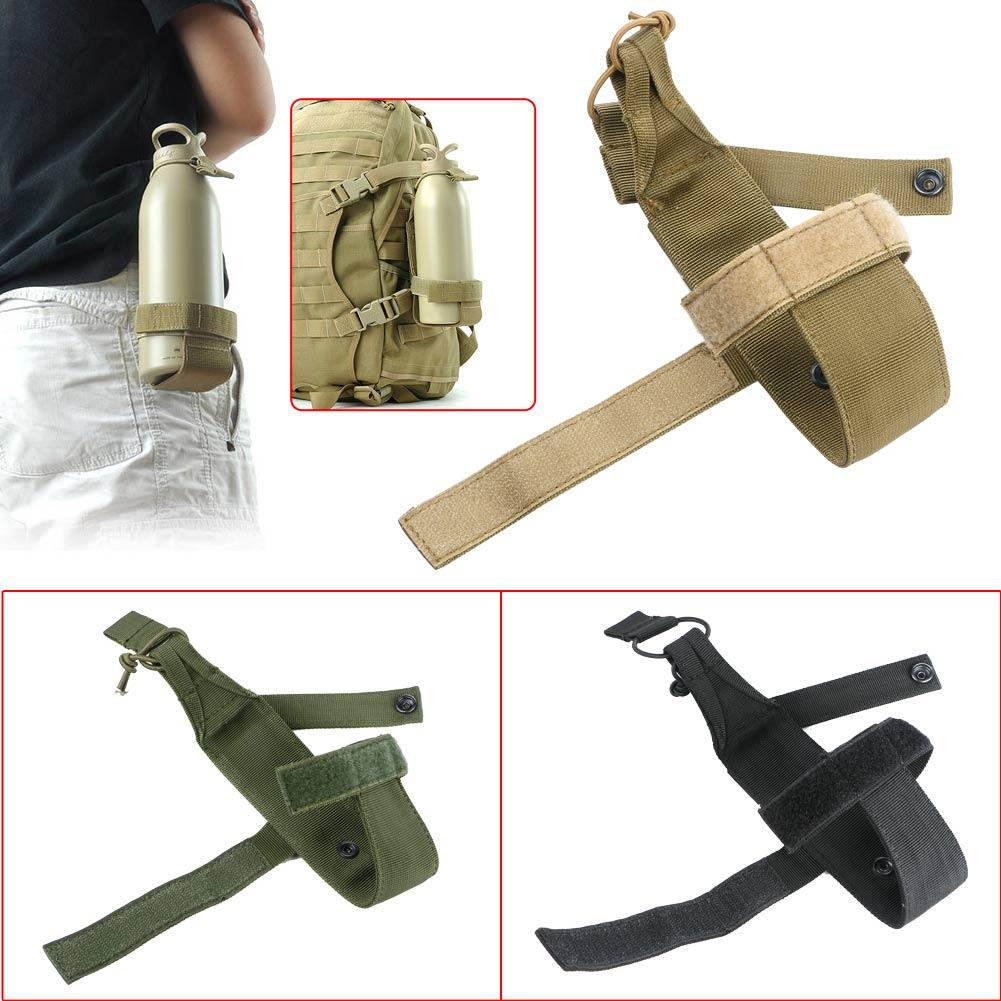 Durable Nylon Water Bottle Holder Belt Waterproof Bottle Carrier Molle Waist Bag