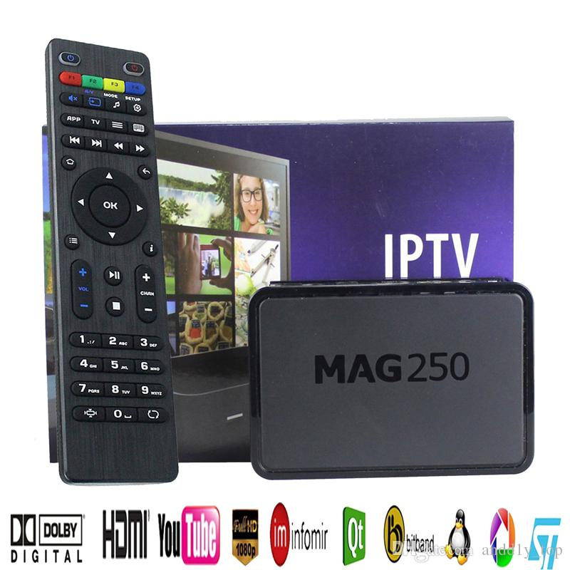 IPTV Set Top Box Mag250 Linux Operating System Iptv Set Top Box Without  Including Iptv Account Mag 250 Decoder Micro Projectors Used Projectors For