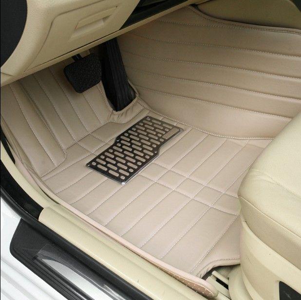 Custom Fit Car Floor Maty do BMW 7 Series E65 E66 F01 F02 G11 G12 Długi / Standardowy Wózek rozdzielczy 3D Car-Styling Dywany Dywany Wkładki - 003