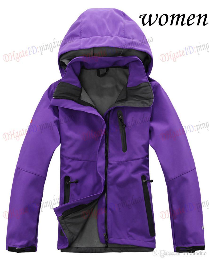 Новые женщины водонепроницаемый дышащий Softshell куртка женщин на открытом воздухе спорт пальто женщины лыжный туризм ветрозащитный зима верхняя одежда мягкая оболочка куртка