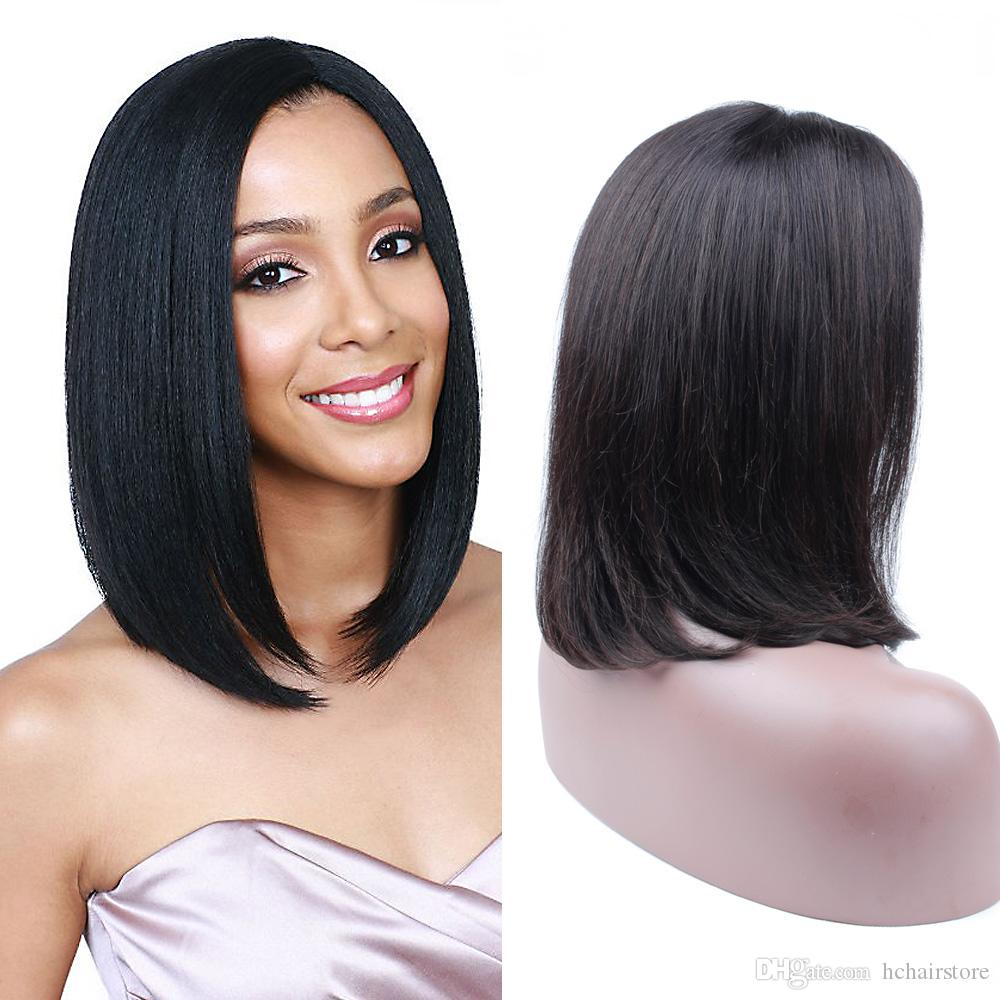 Lace Front Human Hair Wigs With Baby Hair 8 Inch To 14 Inch Brazilian Non Remy Wavy Bob Wigs Bleached Knots Red Hair Wigs Hair Wigs For Sale From Hchairstore 114 67 Dhgate Com