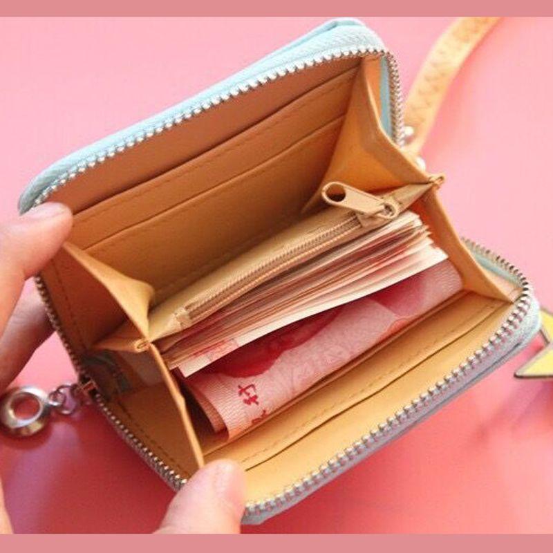 La Corée du fruit frais Porte-monnaie Cartoon Femmes Porte-monnaie sac de rangement