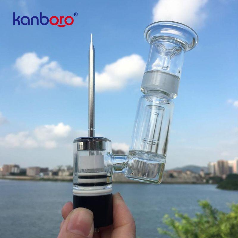 2018 meilleur e cig atomiseur réservoir e cigarette conception portable kanborotech 510 kit d'ongles avec hign qualité personnalisé OEM Ehookah eshisha ..