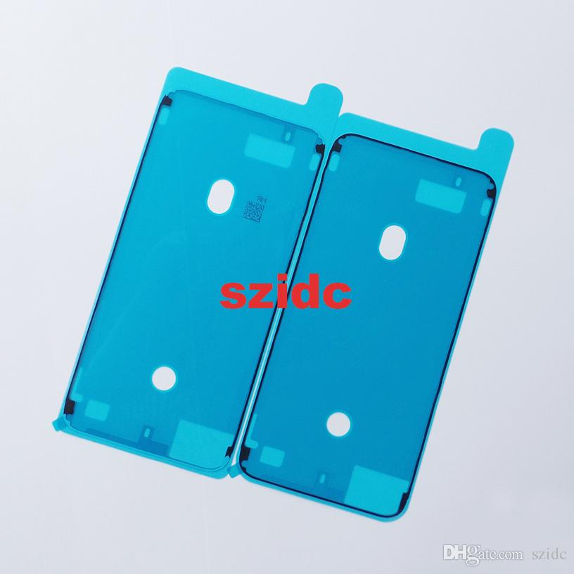 Original New Waterproof Adhesive Sticker For iPhone 8 Plus LCD Front Housing Frame 10 Pcs/lot