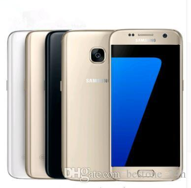 Generalüberholtes Original Samsung Galaxy S7 G930F G930A G930T G930P G930V Entsperrtes Handy Octa Core 4GB / 32GB 5.1 Zoll Android 6.0 Mobiltelefon