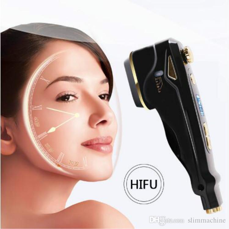 2018 Новый !!! Домашнее использование мини-HIFU подтяжка лица подтяжка кожи инструменты для ухода за кожей HIFU терапия удаление морщин уход за кожей лица машина CE/DHL