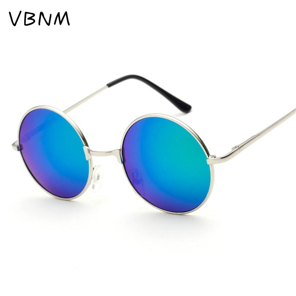 polarized light versized Retro Round Sunglasses Women Brand Vintage Sun Glasses Female Eyewear Steampunk Mirror