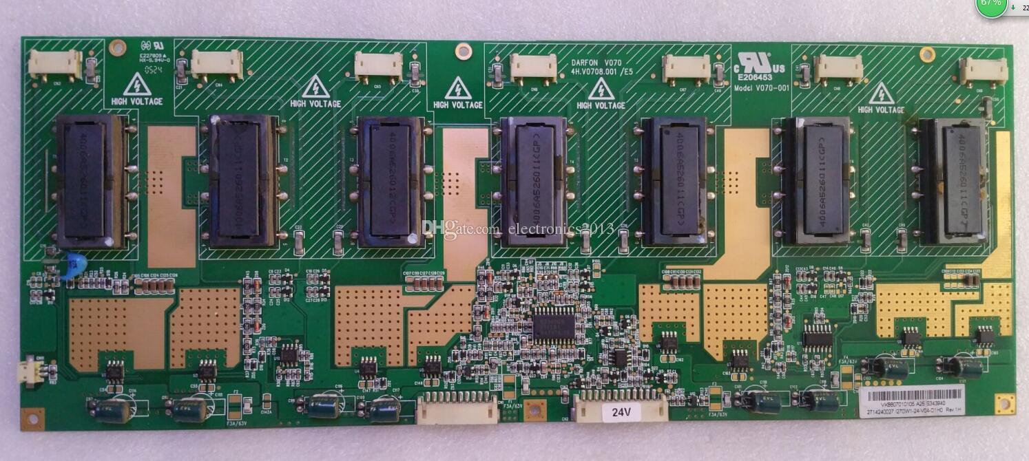 Free Shipping Used Original Backlight Inverter Board TV Board Unit For Samsung 4H.V1448.291/B1 E206453 V144 T315XW02 LA32R71BFree Shipping 1