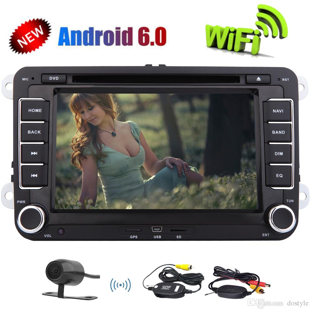 Eincar 7''Double Din In Dash Car Stereo for Volkswagen car DVD Player Multi-Touchscreen System GPS Navigation USB SD FM AM RDS Radio BT