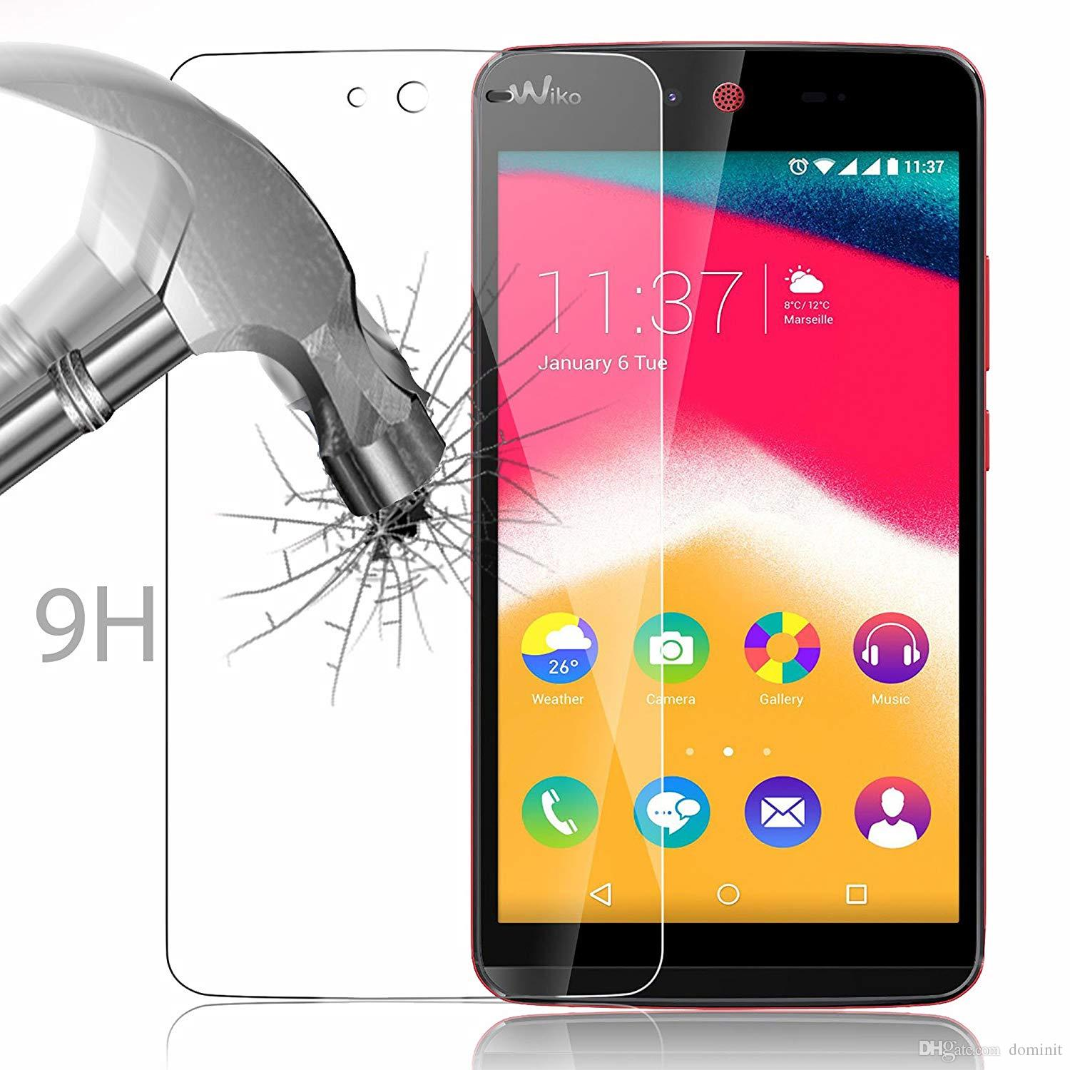 For WIKO KENNY Tempered Glass Screen Protector 9H Hardness 2.5D High Definition Ultra Clear Anti-shatter Toughened Protective Film