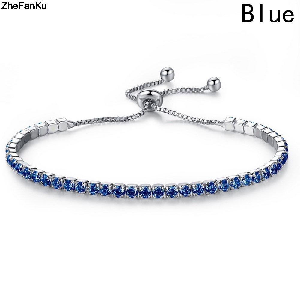 Style peut réglable longueur CZ Zircon Fashion Party Charme Bracelets Bracelets Bijoux en gros de la qualité supérieure