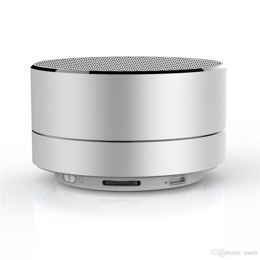 Mini Beweglicher Drahtloser Bluetooth Lautsprecher Subwoof Sound Stereo Musik-player Mit Mic TF FM Radio MP3 Basslautsprecher