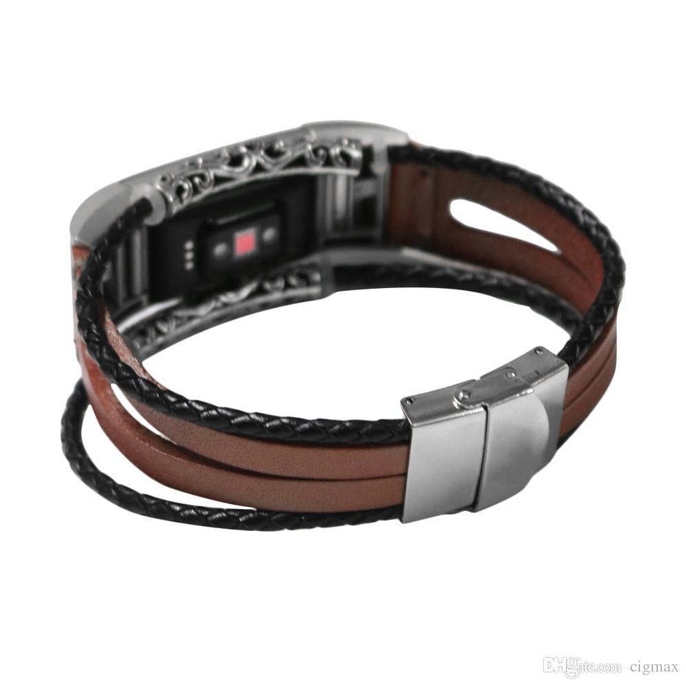 bracelet cuir charge 2