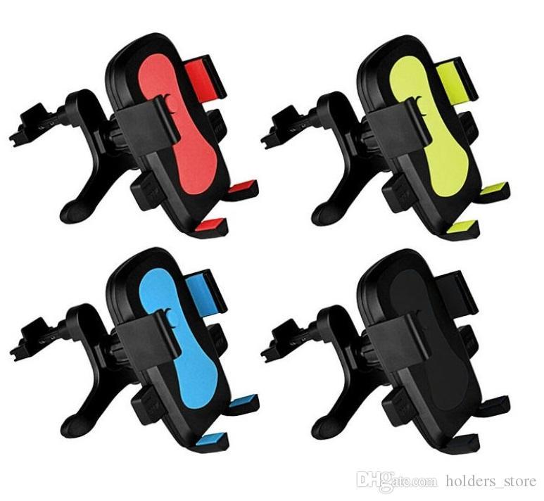 Universal Air Vent im Auto Handyhalter Ständer für iPhone X Huawei Mate 10 Lite Smartphone Keine magnetische Auto-Unterstützung