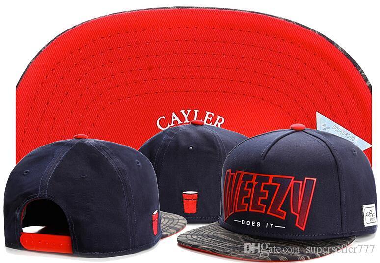 Cayler Sons قبعات القبعات Snapbacks Weezy Snapback ، Cayler Sons snapback القبعات 2018 قبعات الخصم رخيصة ، قبعات رخيصة على الإنترنت T3131