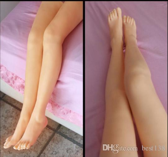Top quality real skin silicone legs, silicone female feet for displaying, silicon feet sex toys Female mannequin