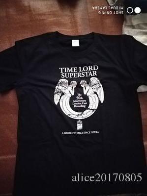 Doctor Who T Shirt Men Short Sleeve Cotton Print Weeping Angel Time Lord Superstar Tee Shirt Homme XXLO Neck Short Sleeve Boyfriend Gift Tee Geek T