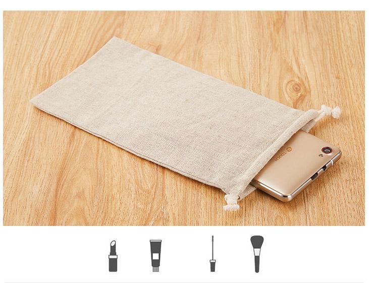"""Spersonalizowane LOG LOTEN Torby sznurkowe 10x15cm (4 """"x6"""") Pakiet 100 może drukować nazwisko ślubne lub nazwa sklepu"""