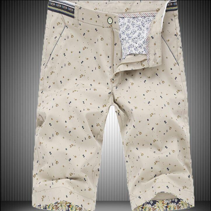 Fashion-nice Vogue Summer Men€s Casual Short Shorts Male Korean Slim Thin Section Breeches Trend Shorts Men Plus Size 28-42 Sho